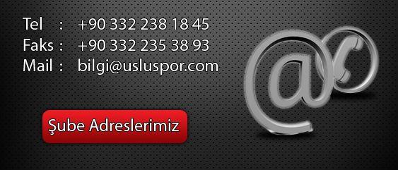 Uslu Spor  | +90 332 238 18 45 - +90 332 351 01 62